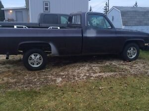 84 chev  possible trade but read add