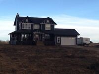 Brand new home on 3 acres