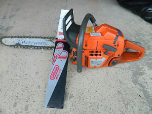 HUSQVARNA 365SP CHAINSAW & NEW BAR