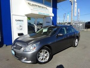 2010 Infiniti G37X  Luxury AWD, Sunroof, Leather, No Accidents!!
