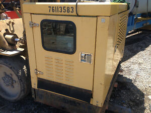 17.5 KW Stanford diesel generator, enclosed cab, switch panel ba
