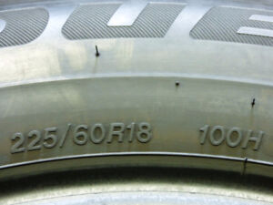 BRAND NEW - Take off Tires - 225/60 R18