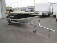 bateau de pêche ''LÉGEND XGS''16 pieds en alluminium +50 hp 4 ts