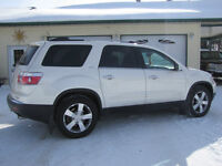 2012 White Diamond  AWD GMC Acadia SLT-1 SUV