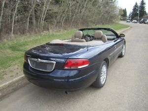 2004 Chrysler Sebring Convertible - Oringinal Owner, 15,000Kms