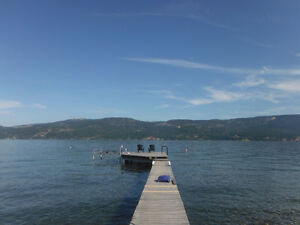 Okanagan lakefront lot