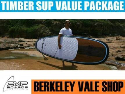TIMBER Stand Up Paddle Board Package  10' 10'6 or 11'4 CMP BOARDS
