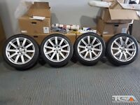 """18"""" Audi S-Line m Alloy Wheels & Tyres for an Audi A4 08 on model"""