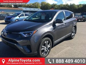2016 Toyota Rav4 LE   Low km, AWD, air conditioning