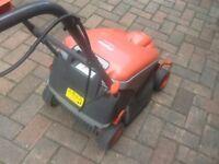Flymo lawn mower electric