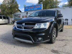2012 Dodge Journey FWD 4dr SXT accident free  push start low km