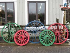 Roue de voiture, de bogey,de wagon ,pour cheval, antique 2 VENDU