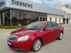 2014 Buick Verano Base  Accident-Free, Aluminum Wheels, One Owne