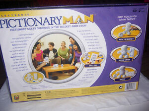 Pictionary Man 2008- a Great team drawing/guessing game-Complete London Ontario image 2
