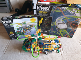 KNEX Roller Coaster and KNEX Helicopter