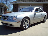 2002 MERCEDES BENZ CL500 with only 104500km! *ONE OWNER LOCAL!*