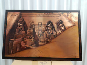 Authentic Egyptian art ,engravings on copper