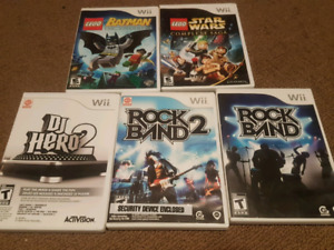 Wii games- each or bundle