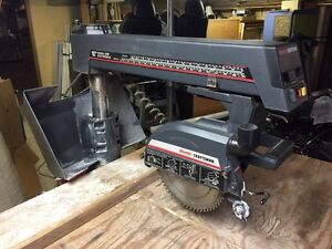 "Craftsman 10"" radial arm saw. Revelstoke British Columbia image 1"