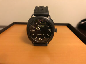 "Panerai Radiomir 45MM Black Ceramic ""Black Seal"" For Sale."
