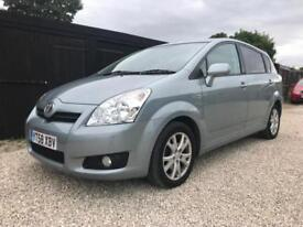 2008/58 Toyota COROLLA Verso 2.2 D-4D SR,7 SEATS,ONLY 63000 MILES,FULL HISTORY