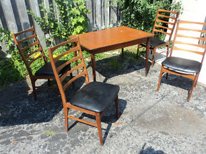 Same Family for Sixty Years- Teak Dining Set