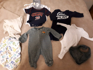 Lot of 8 0-3 month boys items