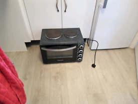 Table top cooker and hob oven black cookworks