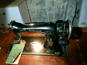Antique Working  Singer Sewing table 1930' s