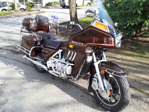 Collector 83 goldwing 1100cc interstate