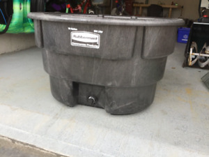 Horse water trough