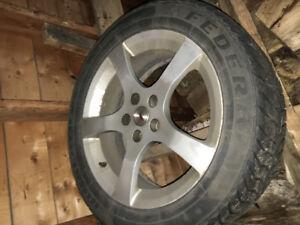 "17"" winter tires. Pontiac G5 g6 cobalt malibu"