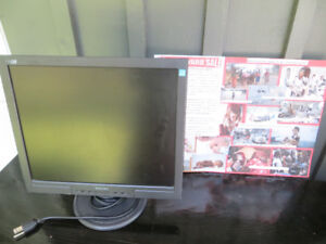 Older Philips Computer Screen Monitor for Charity Sale