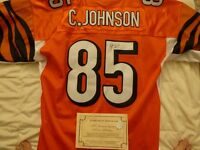 Chad Johnson signed NFL Jersey with Certificate Of Authenticity
