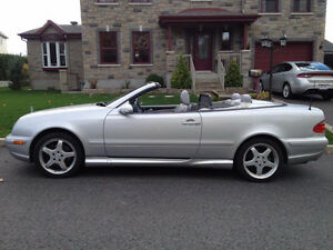 2003 Mercedes-Benz CLK-430 CONVERTIBLE