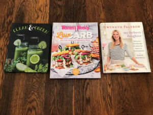 Cook Books For Sale - Like New