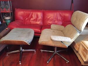 Eames vintage style lounger chair. Ottoman not included.  Peterborough Peterborough Area image 1