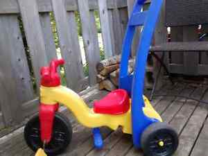 Rock and ride trike