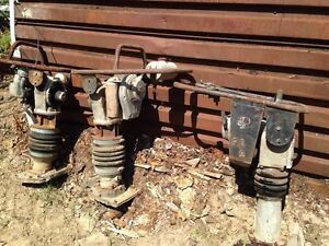 3 WACKER JUMPING JACK TAMPERS