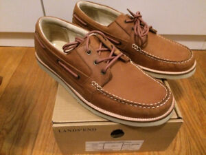 Land's End Huron 3 Eye Chukka, Dark Pecan Brown, $60 CAD