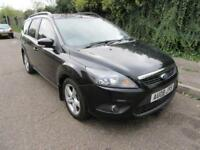 2008 FORD FOCUS 1.6TDCI 110 ( DPF ) ZETEC MANUAL DIESEL 5 DOOR ESTATE