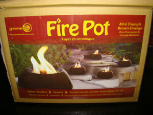 greenearth fire pot