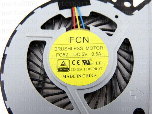 CPU Cooling Fan for HP Envy 15-u201nq x360 15-u399nr 15-u363cl Convertible PC