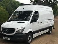 MERCEDES BENZ SPRINTER 313CDI MWB HI ROOF 63 REG