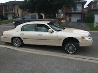 2001 Lincoln towncar carter edition