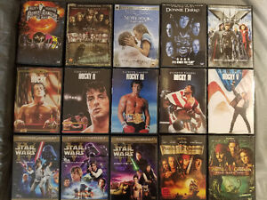 Large DVD collection, $1 each