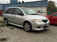 2001 Mazda MPV LX ** LIMITED** With Leather seats