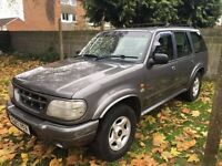 2000 FORD EXPLORER NORTH FACE AUTO SILVER LONG MOT LPG/GAS SYSTEM INSTALLED