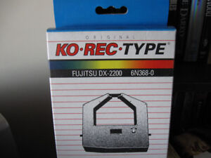 Ko Rec Type-Fujitsu DX-2200 6n368-0-new ribbon in package +
