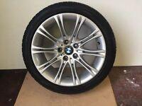 BMW 5 SERIES E60 E61 SALOON TOURING GENUINE Alloy MV2 Wheel TYRE breaking 1 3 5 6 7 series